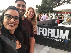 Carlos attended Kesha and Macklemore 6/8 on Jun 8th 2018 via VetTix