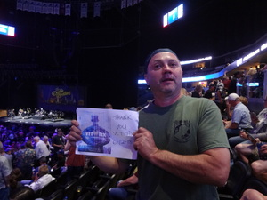 Woody attended Steely Dan & the Doobie Brothers - the Summer of Living Dangerously on Jun 12th 2018 via VetTix