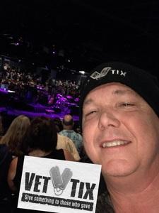 Glenn attended Alan Parson's Project Live on Jun 8th 2018 via VetTix