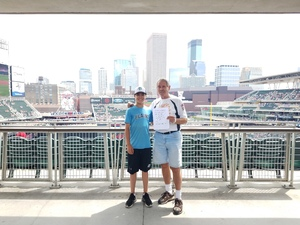 gene attended Minnesota Twins vs. Texas Rangers - MLB on Jun 23rd 2018 via VetTix