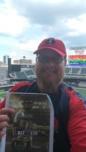 Brian attended Minnesota Twins vs. Texas Rangers - MLB on Jun 23rd 2018 via VetTix