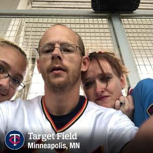 dave attended Minnesota Twins vs. Texas Rangers - MLB on Jun 23rd 2018 via VetTix