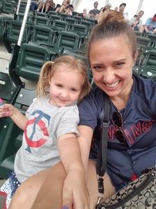 Valerie attended Minnesota Twins vs. Texas Rangers - MLB on Jun 23rd 2018 via VetTix
