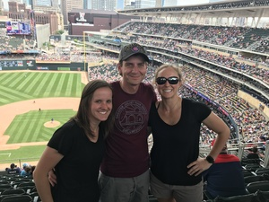 Michelle attended Minnesota Twins vs. Texas Rangers - MLB on Jun 23rd 2018 via VetTix