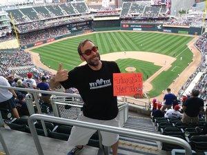 Chad attended Minnesota Twins vs. Texas Rangers - MLB on Jun 23rd 2018 via VetTix