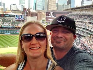 Nicole attended Minnesota Twins vs. Texas Rangers - MLB on Jun 23rd 2018 via VetTix