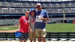 William attended Texas Rangers vs. Colorado Rockies - MLB on Jun 17th 2018 via VetTix