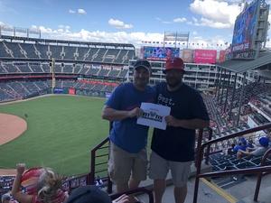 Chris attended Texas Rangers vs. Colorado Rockies - MLB on Jun 17th 2018 via VetTix