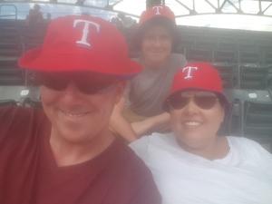 Daniel attended Texas Rangers vs. Colorado Rockies - MLB on Jun 17th 2018 via VetTix