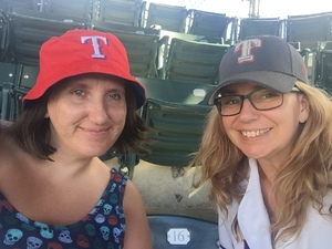 Kathryn attended Texas Rangers vs. Colorado Rockies - MLB on Jun 17th 2018 via VetTix