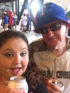 wesley attended Texas Rangers vs. Colorado Rockies - MLB on Jun 17th 2018 via VetTix
