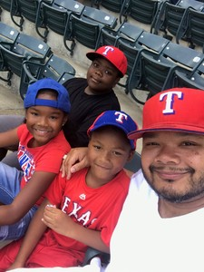 Eric attended Texas Rangers vs. Colorado Rockies - MLB on Jun 17th 2018 via VetTix
