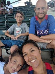 Maria attended Texas Rangers vs. Colorado Rockies - MLB on Jun 17th 2018 via VetTix