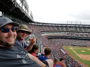 Demian attended Texas Rangers vs. Seattle Mariners - MLB on Sep 23rd 2018 via VetTix