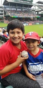 Benny attended Texas Rangers vs. Seattle Mariners - MLB on Sep 23rd 2018 via VetTix