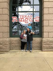 Terry attended Texas Rangers vs. Seattle Mariners - MLB on Sep 23rd 2018 via VetTix
