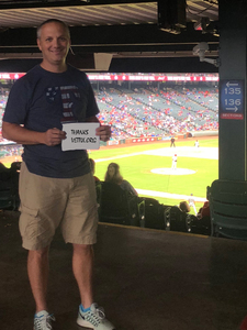 Brad attended Texas Rangers vs. Seattle Mariners - MLB on Sep 23rd 2018 via VetTix