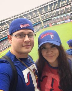 Mario attended Texas Rangers vs. Seattle Mariners - MLB on Sep 23rd 2018 via VetTix