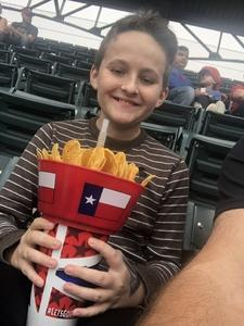 Chris attended Texas Rangers vs. Seattle Mariners - MLB on Sep 23rd 2018 via VetTix