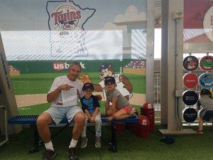 gene attended Minnesota Twins vs. Texas Rangers - MLB on Jun 24th 2018 via VetTix