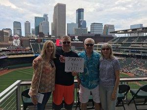 Todd attended Minnesota Twins vs. Texas Rangers - MLB on Jun 24th 2018 via VetTix
