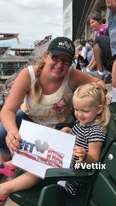 Joshua attended Minnesota Twins vs. Texas Rangers - MLB on Jun 24th 2018 via VetTix