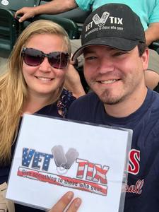 ANTHONY attended Minnesota Twins vs. Texas Rangers - MLB on Jun 24th 2018 via VetTix