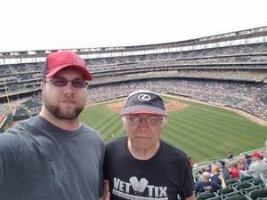 wayne attended Minnesota Twins vs. Texas Rangers - MLB on Jun 24th 2018 via VetTix
