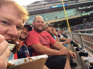 Zac attended Minnesota Twins vs. Texas Rangers - MLB on Jun 24th 2018 via VetTix