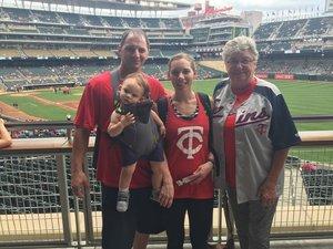 William attended Minnesota Twins vs. Texas Rangers - MLB on Jun 24th 2018 via VetTix