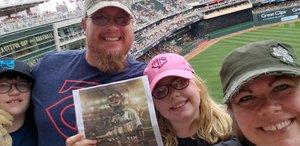 Brian attended Minnesota Twins vs. Texas Rangers - MLB on Jun 24th 2018 via VetTix