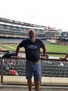 Roger attended Minnesota Twins vs. Texas Rangers - MLB on Jun 24th 2018 via VetTix