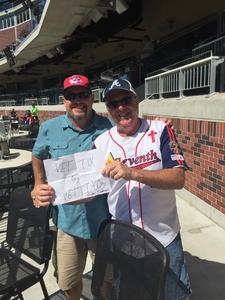 David attended Atlanta Braves vs. St. Louis Cardinals - MLB on Sep 19th 2018 via VetTix