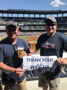 William attended Atlanta Braves vs. St. Louis Cardinals - MLB on Sep 19th 2018 via VetTix
