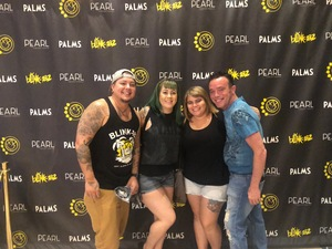 Katherine attended Blink 182 at the Pearl Concert Theater on Jun 9th 2018 via VetTix