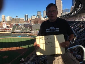 James attended Minnesota Twins vs. Baltimore Orioles - MLB on Jul 5th 2018 via VetTix