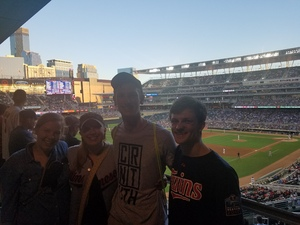 Brianna attended Minnesota Twins vs. Baltimore Orioles - MLB on Jul 5th 2018 via VetTix
