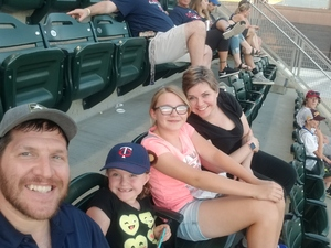 Clarence attended Minnesota Twins vs. Baltimore Orioles - MLB on Jul 5th 2018 via VetTix