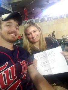 Kevin attended Minnesota Twins vs. Baltimore Orioles - MLB on Jul 6th 2018 via VetTix