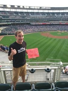 Chad attended Minnesota Twins vs. Baltimore Orioles - MLB on Jul 6th 2018 via VetTix