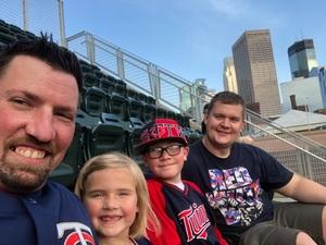 Kelly attended Minnesota Twins vs. Baltimore Orioles - MLB on Jul 6th 2018 via VetTix