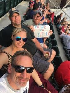 Anthony attended Minnesota Twins vs. Baltimore Orioles - MLB on Jul 6th 2018 via VetTix