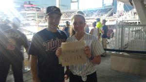 francisco attended Minnesota Twins vs. Baltimore Orioles - MLB on Jul 6th 2018 via VetTix