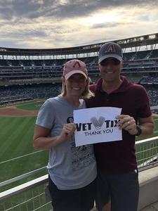 Scott attended Minnesota Twins vs. Baltimore Orioles - MLB on Jul 6th 2018 via VetTix