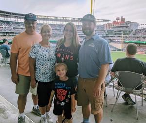 Justin attended Minnesota Twins vs. Baltimore Orioles - MLB on Jul 6th 2018 via VetTix