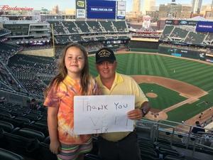 Jim attended Minnesota Twins vs. Baltimore Orioles - MLB on Jul 7th 2018 via VetTix