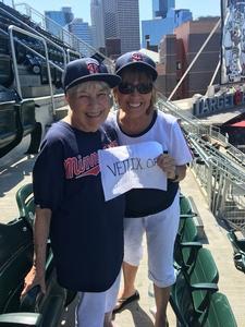 Steven attended Minnesota Twins vs. Baltimore Orioles - MLB on Jul 7th 2018 via VetTix