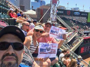 Wade attended Minnesota Twins vs. Baltimore Orioles - MLB on Jul 7th 2018 via VetTix