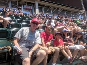 Shaun attended Minnesota Twins vs. Baltimore Orioles - MLB on Jul 7th 2018 via VetTix