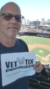 David attended Minnesota Twins vs. Baltimore Orioles - MLB on Jul 7th 2018 via VetTix